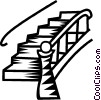 Vector Clipart illustration  of a stairs