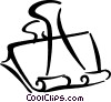 bulldog/alligator clip Vector Clip Art graphic