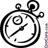 stopwatch Vector Clipart illustration
