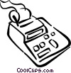 calculator Vector Clipart illustration