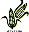 corn on the cob Vector Clip Art picture