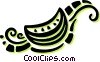 slice of watermelon Vector Clip Art picture
