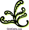 Vector Clip Art graphic  of a floral designs