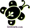 beetle Vector Clipart illustration