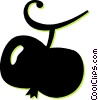 Vector Clip Art picture  of an apple