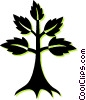 Vector Clip Art graphic  of a tree