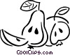 pears Vector Clip Art picture