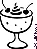 Desserts Vector Clipart graphic