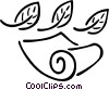 paper, scroll Vector Clip Art picture