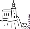 lighthouse Vector Clipart graphic