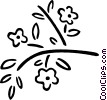 tree branch Vector Clip Art image