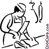 butcher Vector Clipart picture