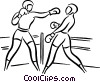 boxers Vector Clipart picture