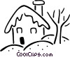 house Vector Clipart graphic