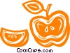 apple Vector Clipart illustration