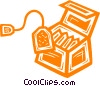 box of tea Vector Clipart picture