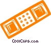 Vector Clip Art picture  of a bandage
