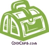 doctor's bag Vector Clipart illustration