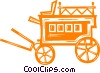 wagon Vector Clip Art picture