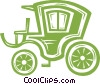carriage Vector Clip Art graphic