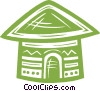 hut Vector Clipart illustration