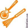 Vector Clipart illustration  of a percussive instruments