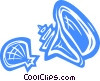 Vector Clipart illustration  of a Shells  Seashells
