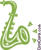 Saxophone Vector Clipart illustration
