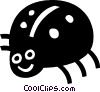 Vector Clip Art graphic  of a ladybug