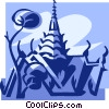 Grand Palace, Bangkok Vector Clipart picture