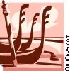 gondolas Vector Clip Art image