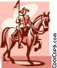 Canadian Mountie Vector Clip Art picture