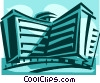 apartment building Vector Clip Art picture
