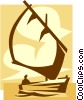 sailboat Vector Clipart picture