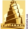 Vector Clip Art picture  of a Great Mosque
