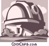 observatory Vector Clipart image