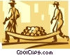 farmer Vector Clip Art picture