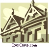 buildings Vector Clipart illustration