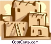 Vector Clipart graphic  of a ruins
