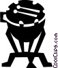 Timpani Vector Clipart graphic