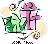 Christmas Presents Gifts Vector Clipart picture