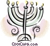 Menorah Vector Clipart illustration