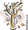 Deciduous Vector Clipart graphic