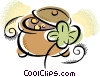 Pot of Gold Vector Clip Art image