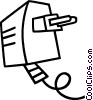 Vector Clipart graphic  of a plug