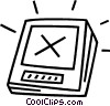 Vector Clipart picture  of a pda