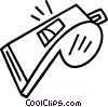 whistle Vector Clipart picture