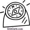 compass Vector Clipart illustration