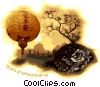 Vector Clip Art picture  of a Taiwan