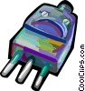 Vector Clip Art image  of a Electric Plugs
